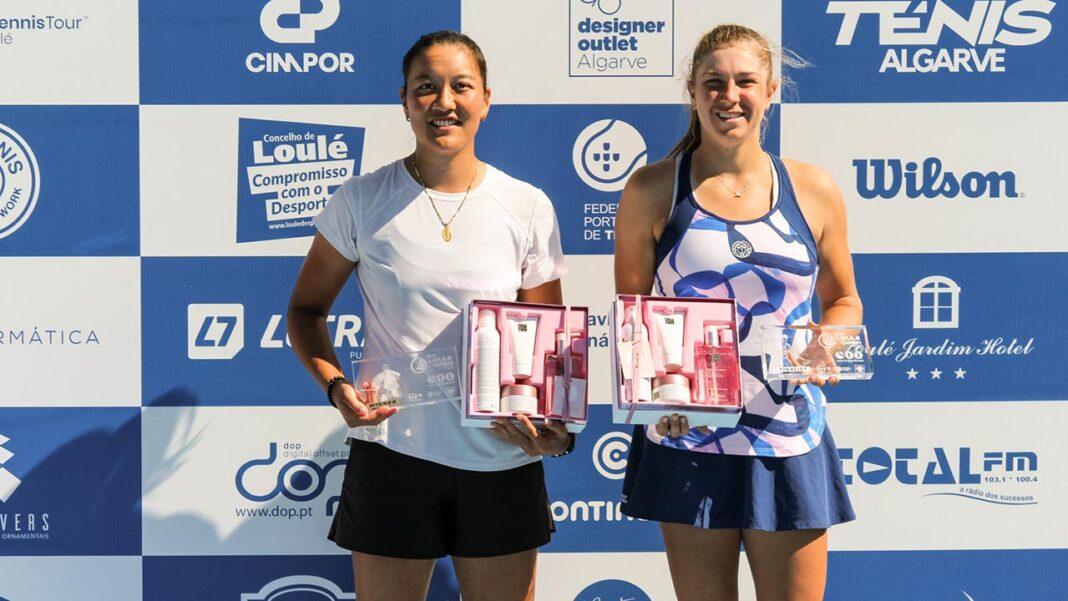 Harmony Tan, número 119 WTA confirmou o favoritismo e ergueu o segundo título da época. Cinco portugueses vitoriosos no qualifying do Loulé Open masculino.