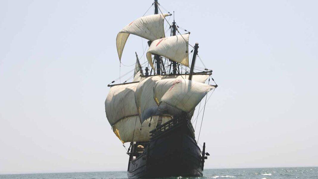 Nau Victoria, a réplica do navio do século XVI que deu a volta ao mundo com Fernão de Magalhães e Elcano, atraca em Lagos, de 26 a 31 de outubro.