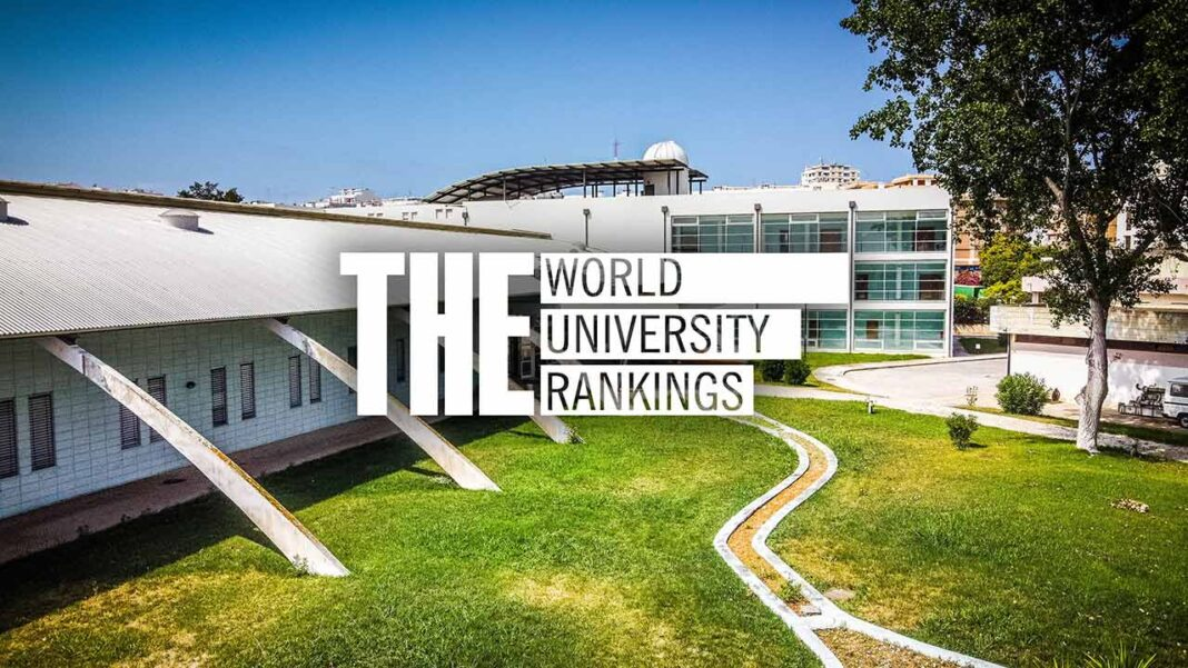 A Universidade do Algarve (UAlg) integra o World University Rankings by Subject da Times Higher Education (THE), nas áreas de «Life Sciences», «Clinical & Health», «Physical Sciences» e «Engineering».